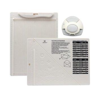 DDB-K01 Доска для создания конвертов и открыток с дыроколом угла, ТМ Рукоделие