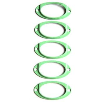 Металлические рамочки Зеленые 5 шт.