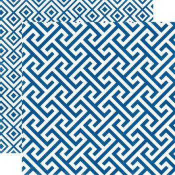 SEAV12006 Бумага Sapphire Geometric — Echo Park 30,5х30,5