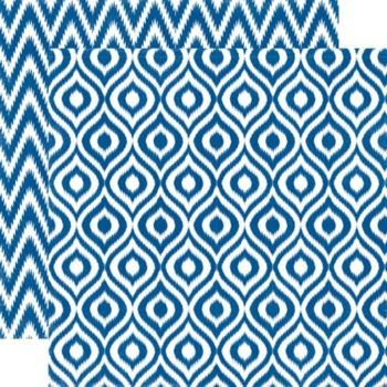 SEAV12007 Бумага Sapphire Ikat — Echo Park 30,5х30,5