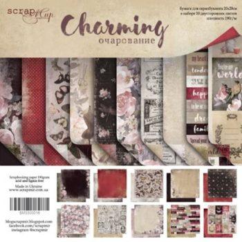 SM3300016 Набор бумаги Charming (Очарование) - Scrapmir, 20х20см