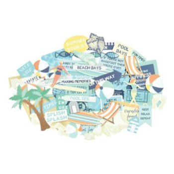 Набор высечек Summer Splash - Kaisercraft