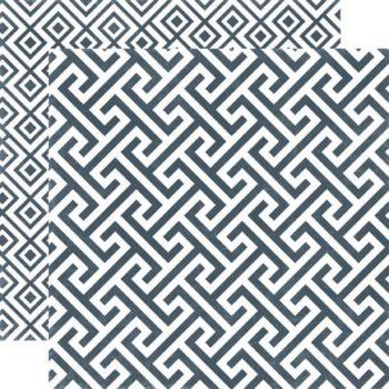SEAV12003 Бумага Graphite Geometric — Echo Park 30,5х30,5