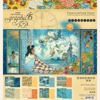 4501930 Набор бумаги Dreamland - Graphic 45, 20*20, 24 листа