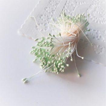 Светло-зеленые тычинки 1-2мм 100 шт.