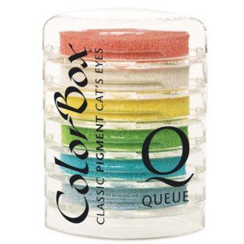 Набор штемпельных подушек Rainbow Sherbert - Pigment - Cat's Eye - Queue - ColorBox (Clearsnap) 6 шт.