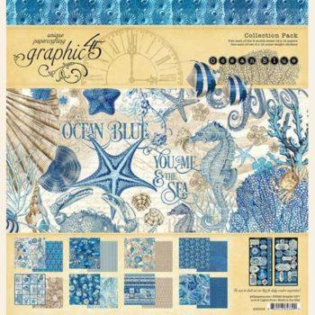 4502016 Полный набор бумаги Ocean Blue - Graphic 45, 30*30см