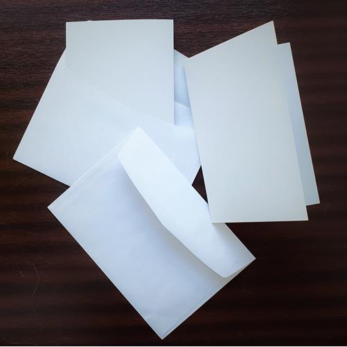 Набор заготовок для открыток с конвертами 2 шт. 115*160мм