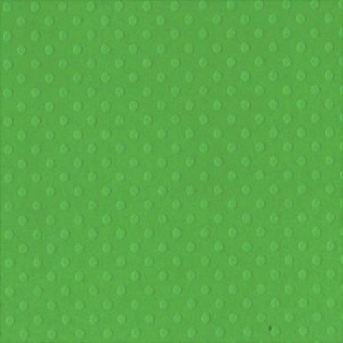 Кардсток Bazzill - DOTTED SWISS - Apple Tart с тиснением горошком 30,5*30,5 см