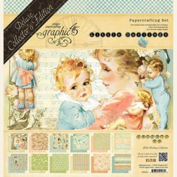 4501614 Полный набор Little Darlings — Graphic 45, Deluxe Collectors Edition
