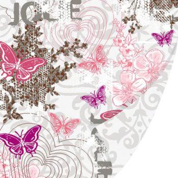 Бумага Praline - Chocolat - SEI с глиттером 30,5*30,5см