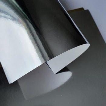 Дизайнерский картон Зеркальный Серебро - Splendorlux Mirror ARGENTO 25*24см