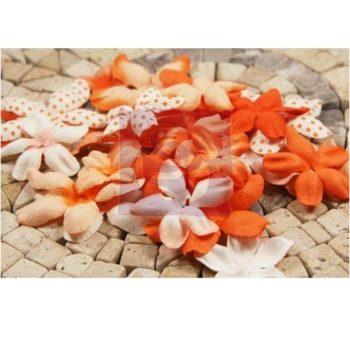 300906 Набор бумажных цветов E-line Orange - Prima Marketing, 24 шт.