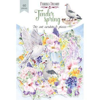 Набор высечек Tender spring — Фабрика Декору, 60шт