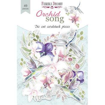 Набор высечек Orchid song — Фабрика Декору, 48шт