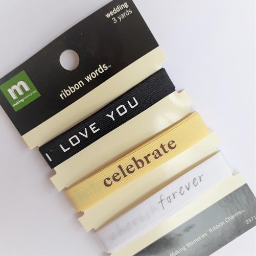 Набор декоративных лент Emotions - Making Memories, 3шт, по 95см