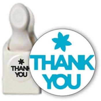 42-30003 Большой фигурный дырокол Thank You — Martha Stewart