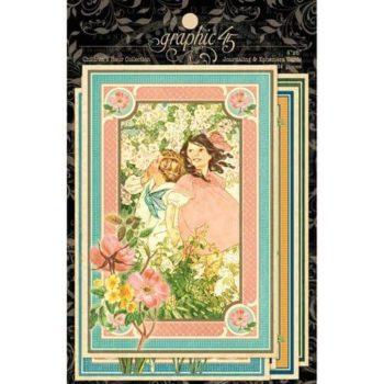 4501259 Карточки Childrens Hour - Ephemera Cards, Graphic 45
