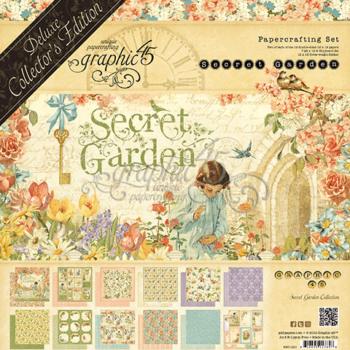4501421 Полный набор Secret Garden -Graphic 45, Deluxe Collectors Edition