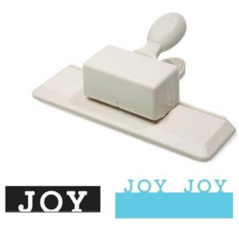 M284117W Бордюрный дырокол JOY — Holidays Martha Stewart Edge Punch