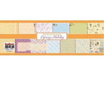 Набор бумаги Весенний праздник (Spring Holiday) - ScrapBerrys 7 листов 30,5*30,5 см