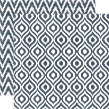 SEAV12004 Бумага Graphite Ikat — Echo Park 30,5х30,5
