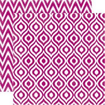 SEAV12013 Бумага Mulberry Ikat — Echo Park 30,5х30,5