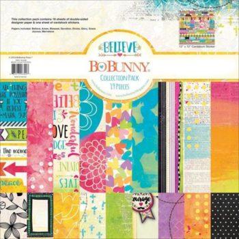Набор двусторонней бумаги Believe - BoBunny, 30*30 см