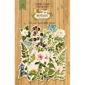 Набор высечек Botany summer - Фабрика Декору, 59шт