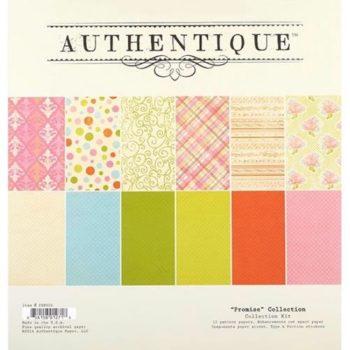 Набор двусторонней бумаги Promise - Authentique, 30*30см