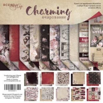 SM3300011 Набор бумаги Charming (Очарование) - Scrapmir, 30х30см