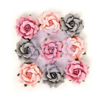 Набор цветов Rose Quartz Flowers - Thassos - Prima Marketing, 9 шт.