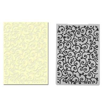 Форма для тиснения Swirl — CraftBox, 14,5*10,5 см