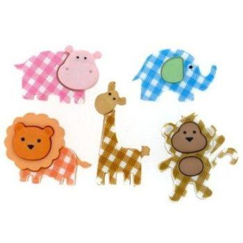 Набор декоративных пуговиц Baby Safari - Dress It Up