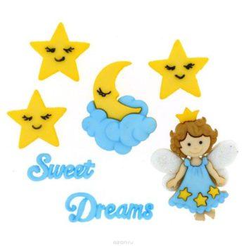 Набор декоративных пуговиц Sweet Dreams - Dress It Up