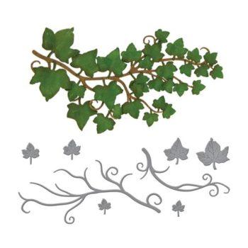Набор ножей для вырубки и тиснения Ivy (Плющ), Spellbinders