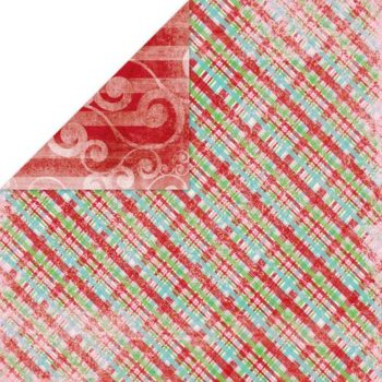 Бумага Holiday Cheer Plade - Bo Bunny 30,5х30,5