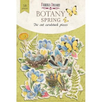 Набор высечек Botany Spring — Фабрика Декору, 58шт