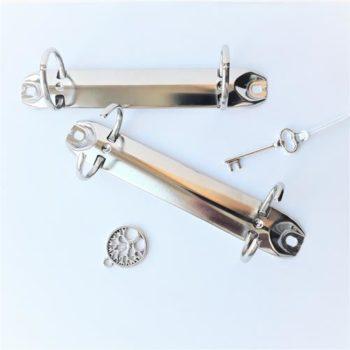Механизм кольцевой серебро, длина 123 мм, кольцо - 20 мм