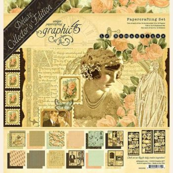 4501952 Набор бумаги Le Romantique — Graphic 45 — Deluxe Collector's Edition