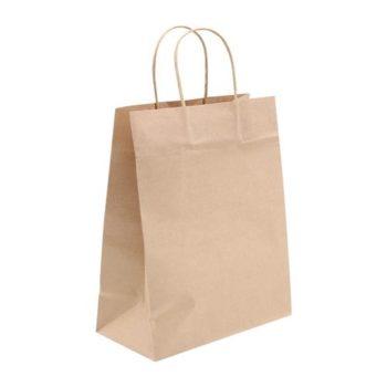 Пакет подарочный Крафтовый