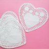 Салфетки бумажные Сердце Белые 5 шт.