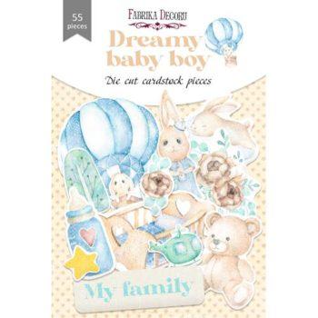 Набор высечек Dreamy baby boy — Фабрика Декору 55шт.
