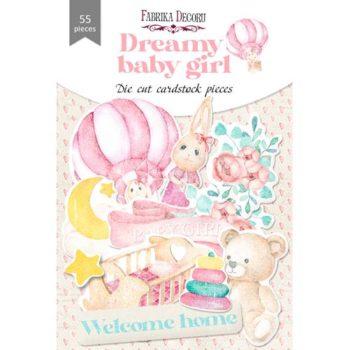 Набор высечек Dreamy baby girl — Фабрика Декору 55шт.