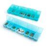 ОМ-043 Коробка Gamma 24,2*10,5*2,75см, прозрачный/голубой