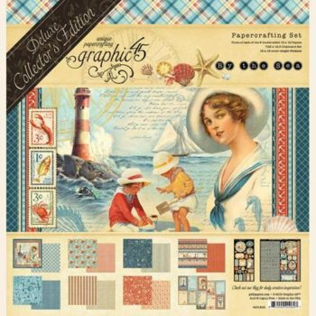 4501832 Набор бумаги By the Sea — Graphic 45 — Deluxe Collector's Edition