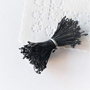 Черные тычинки 1-2мм 100 шт.
