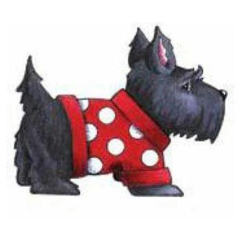 Штамп деревянный Собака Скотч-терьер - Mary Engelbreit Ink