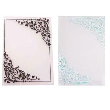 Форма для тиснения Floral Corners - CraftBox, 14,5*10,5 см