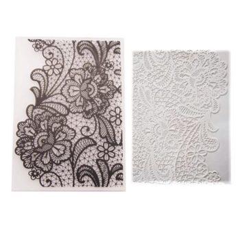 Форма для тиснения Floral Lace - CraftBox, 14,5*10,5 см